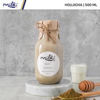 MILKI Premium Houjicha Honey Milk 500 ml