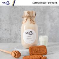 MILKI Premium Lotus Biscoff Honey Milk 1L