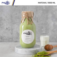 MILKI Premium Matcha Honey Milk 1L