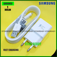 Charger Casan Original 100% SAMSUNG FAST CHARGING S6 NOTE 4 MICRO USB