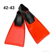 Finis Long Floating Fin Black / Red Euro Size 42 - 43