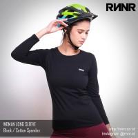 Baju Sepeda Wanita Bahan Katun Spandex