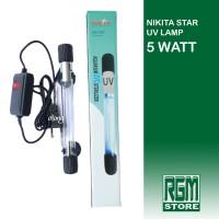 NIKITA STAR Lampu UV Lamp NS 5 watt 5w aquarium aquascape