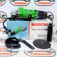 Mesin Gerinda Modern M-2360B Angle Grinder M2360B Gurinda M 2360B