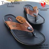 Sandal Jepit Pria Tony Adam Original PM3 - Hitam, 39