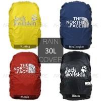 Rain Cover Tas / Cover Bag Daypack JWS /TNF 30L - 35L Murah