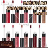 Maybelline Color Sensational Liquid Matte Lipstick Lip Cream Kosmetik