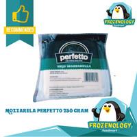 Keju Mozarella PERFETTO Mozzarella Cheese 250 g Bukan Block Slice 1 kg