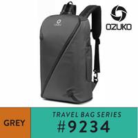 Ozuko Backpack #9234 Grey