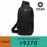 Ozuko Sling bag #9270 - Camo