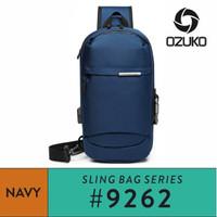 Ozuko Sling bag #9262 - Navy