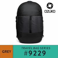 Ozuko Backpack #9229L - Grey