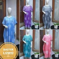 Daster batik cap lowo pastel