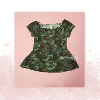 Atasan Baju Anak Perempuan Justice Army