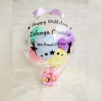 balloon bouquet / buket balon / balon box / kado balon / bunga box