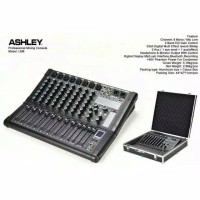 Mixer Audio 8 Channel Ashley LM8 LM-8 LM 8 Hardcase TERBAIK