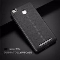 Case Xiomi Redmi 3/3s Shoftcase Auto Fokus Leather Case Casing
