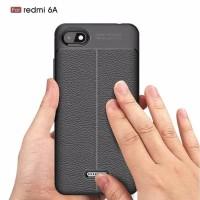 Case Xiomi Redmi 6A Softcase Auto Fokus Leather Case Xiomi Redmi 6A
