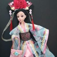 Baju boneka berbie putri cina