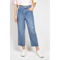 ODIVA Remy Straight Jeans Blue