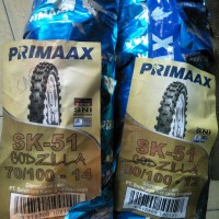 ban cross/trail velg ring 12 dan 14 primaax godzilla