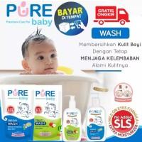 Pure Baby Wash 2 in 1 (230ml/450ML) Sabun Mandi Bayi (Kulit Sensitif )