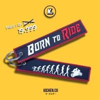 Born to Ride Keytag Gantungan Kunci Motor