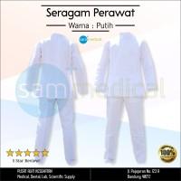 Seragam Perawat / Baju Perawat Warna Putih