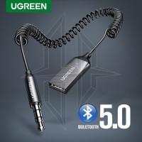UGREEN 70601 Bluetooth Car Receiver Head Unit AUX 3.5mm Audio Adapter