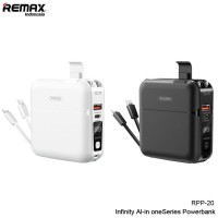 Remax RPP-20 Powerbank 15000mAh With Cable/Phone holder/ QC.3. Charger