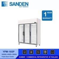 Sanden Intercool Showcase Chiller YPM-165P 3 Pintu kapasitas 1200 L