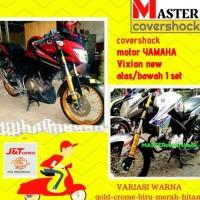 VARIASI COVER SHOCK MOTOR YAMAHA VIXION NEW COVER SHOCKBREAKER MOTOR