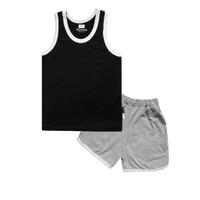 Wakakids Baju Anak Unisex Singlet Basic Kaos Usia 1- 4 Tahun 3589