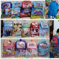 TAS Spunbond RANSEL VinilAB Souvenir goodie bag ulang tahun anak Goody
