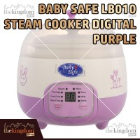 Baby Safe LB010 Digital Steam Cooker Purple Alat Masak Kukus Makanan