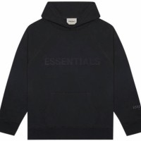 FEAR OF GOD Essentials SS20 Hoodie Black (not bape supreme off white)