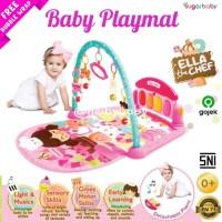 Sugar Baby [All in 1] Piano Playmat / Alas Main Bayi - Pink