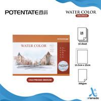 Potentate 19x13cm Watercolor Pad - COLD PRESSED