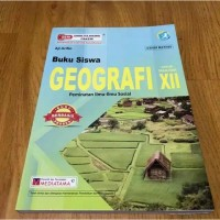 Buku Siswa Geografi Kelas XII-12 SMA K13 Revisi ( Mediatama )