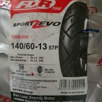 Ban Fdr Zevo 140/70-13 Tubless untuk Nmax