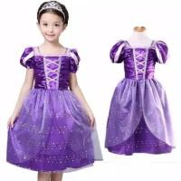 Princess Rapunzel Dress Costume | Baju Kostum Putri Anak 2