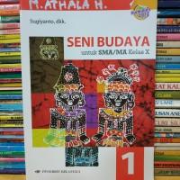 Buku seni budaya untuk SMA kelas 1 X 10 kurikulum 2013 erlangga