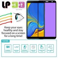 LP Full Anti-Blue Light Tempered Glass Samsung Galaxy A7 (2018) - Kaca
