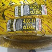 paket ban luar + dalam swallow tubetype 350 & 400 x 17 classic