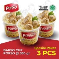 Popso bakso cup @3pcs