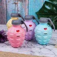 Botol Minum Air Granat Bahan Plastik Unik Premium Import Quality