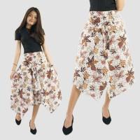 SB Collection Celana Pendek Sala 7/8 Kulot Runcing Modern Batik Wanita