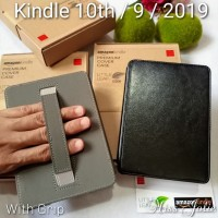 Leather Cover Amazon All New Kindle 10th Gen 2019 Hard Case Casing 10