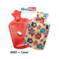 Bantal Kompres Air Panas Buli Buli Hot Water Bag Warm Water Zak
