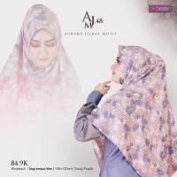 Jilbab Segiempat Motif Aurany AJM 48 - Hijab Segiempat - Hijab Motif